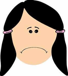 Triste Sad Clip Art at Clker.com - vector clip art online ...