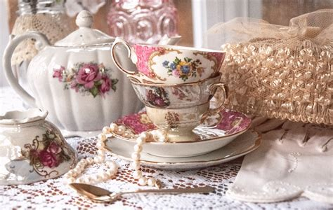 in tea decorations tea