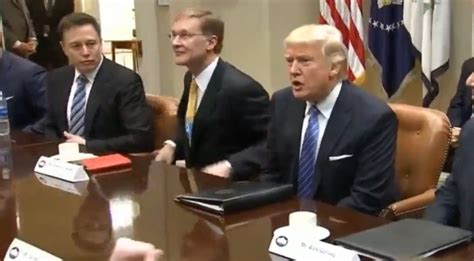 Spacex And Lockheed Ceos Meet With Donald Trump