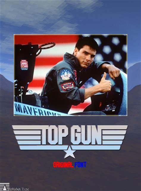 top gun dafontcom