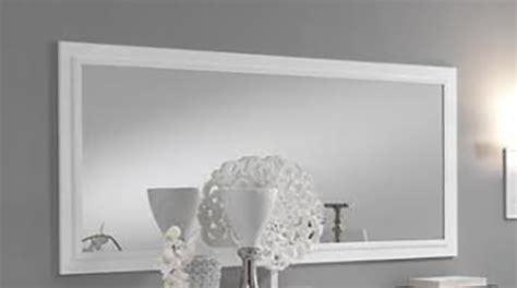 miroir laque blanc brillant miroir fano laqu 233 blanc et gris blanc brillant