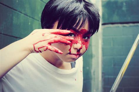 blood mask damian wayne batman streets gotham