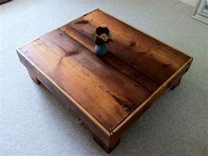 hand made oversized barn board coffee table by With barn board coffee table