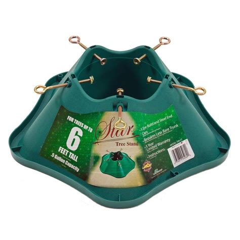 lowes christmas stand shop handithings 4 75 in plastic tree stand for 6 ft tree at lowes