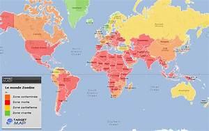 Carte Du Monde Metallique : world map of le monde zombie by country targetmap ~ Teatrodelosmanantiales.com Idées de Décoration