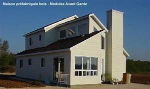 Maison Préfabriquée En Bois : construction ~ Premium-room.com Idées de Décoration