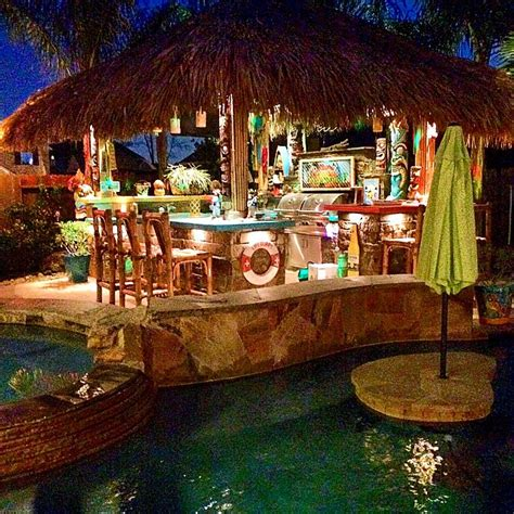 Tiki Bar Hut City by Tiki Hut Bar Bums
