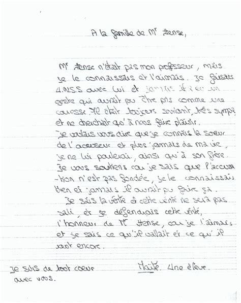Lettere Di Suicidi by Lettre D Adieux De Bernard Bernard Hanse Un Homme D