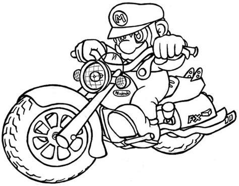 Mario Sonic Kleurplaten by Mario Coloriages