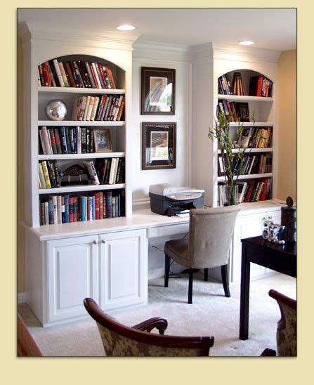 Office Desk With Bookshelf by Bookcase And Study Nook Bookcases And Built In Desks In