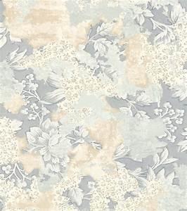 Tapete Blau Muster : tapete vlies bl tter vintage blau creme rasch 802559 ~ Orissabook.com Haus und Dekorationen
