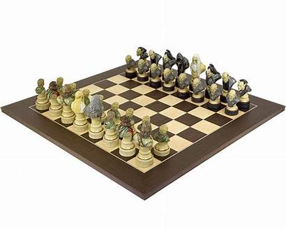 Chess Lord Rings Wenge Sets Themed Edition