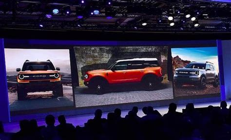 ford baby bronco crossover shown  dealer  image