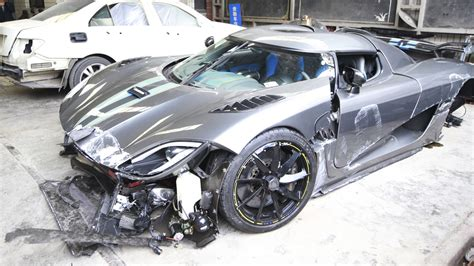Chinese Man Wrecks .1-million Swedish Supercar