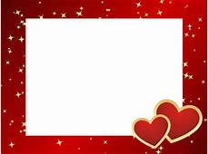 Valentine's Day clipart frame Pencil and in color