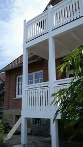 Balkon Handlauf Holz : holz balkon schaumburger fenster ~ Lizthompson.info Haus und Dekorationen