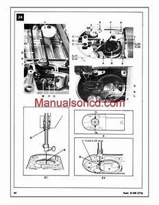 Singer 353 And 354 Sewing Machine Service Manual  Note