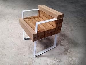 Mobilier Bois Design : chaiss petit fauteuil par s bastien mazzoni ~ Melissatoandfro.com Idées de Décoration