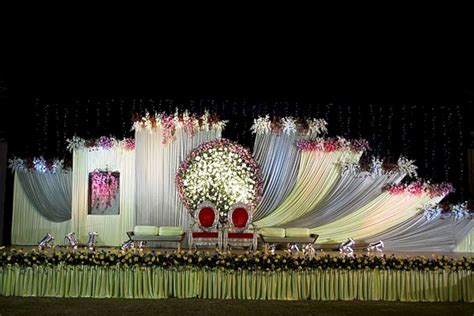 wedding stage decorations flowers oosile