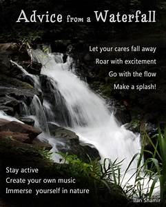 Advice from a W... Funny Waterfalls Quotes