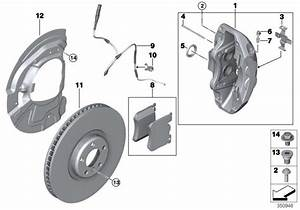 Bmw X5 Protection Plate Left  Brake  Front  Disc