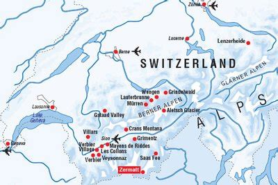 Rhythm And Alps Travel Map Directions And Location Switzerland Zermatt Quot The Facts Quot The Through My