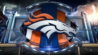 Broncos Denver 3d Bronco Logos Football Win