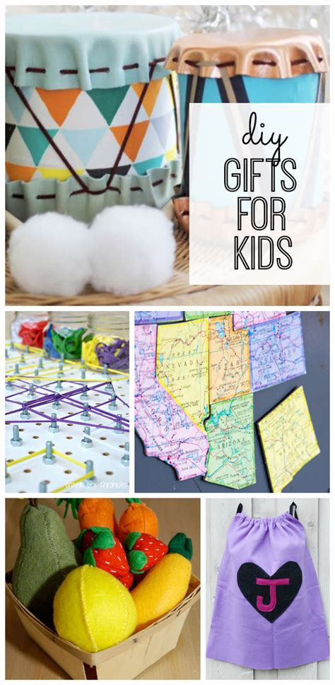 DIY Gifts for Kids - My Life and Kids
