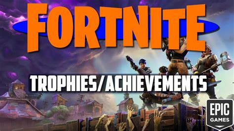 fortnite trophies achievements leaked fortnite