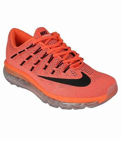 Orange Nike Running Sports Air Airmax Hover