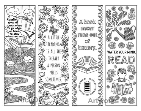 bookmarks to color 101 best bookmarks coloring pages for adults images on