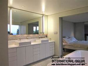 Modern bathroom lights and lighting concepts top home