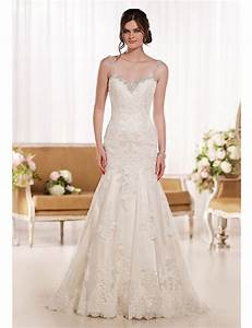 2016 perfect hollywood glam bridal gown timeless designer With fit and flare dress wedding dress