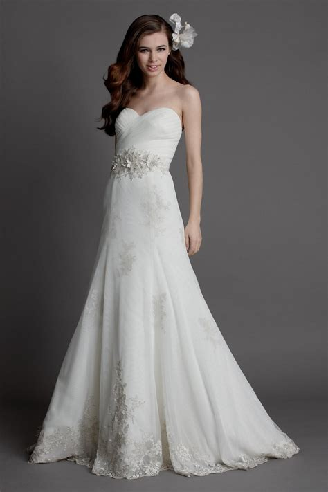 Beautiful Strapless Wedding Dresses Lace Naf Dresses