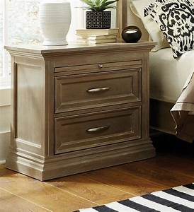 The, Sonoma, 2, Drawer, Nightstand, Is, Solid, Wood, And, Fully, Assembled