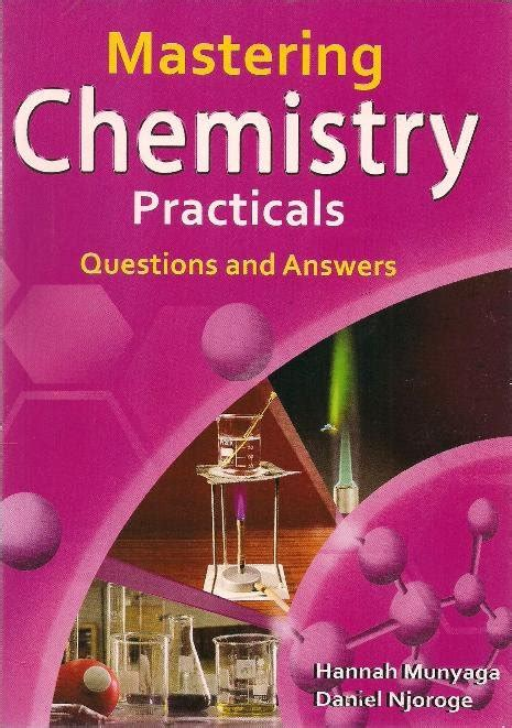 mastering chemistry practicals questions  answer text