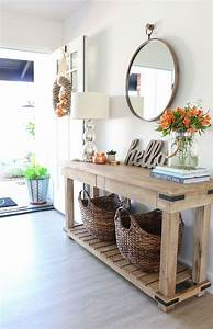Entryway, Table, Designs, And, Ideas, For, Wholesome, Homes