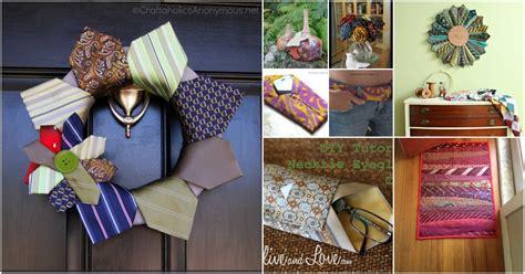 cute repurposing ideas  turn  neckties