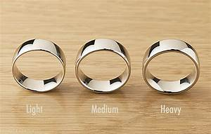 the difference between light medium heavy weight With what is a wedding ring