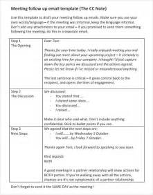 Meeting Follow-Up Email Template