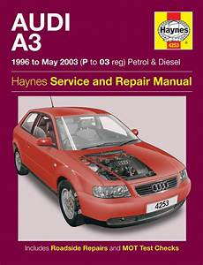 Haynes Workshop Car Repair Manual Audi A3 Petrol  U0026 Diesel