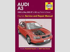 Haynes Workshop Car Repair Manual Audi A3 Petrol & Diesel