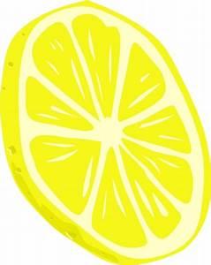 Lemon (slice) clip art Free vector in Open office drawing ...