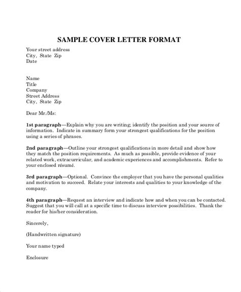 sample business letter formats  word