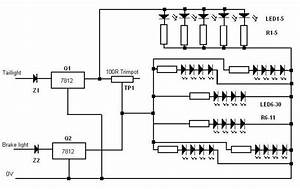 To Make A Led Tail Light Diagram