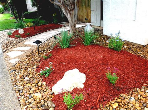 great landscaping ideas great landscaping rocks red with river stone for small front yard xeriscape to help idolza