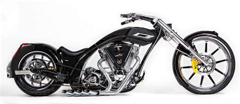 Senior Vs. Junior American Chopper Cadillac Bikes Up For