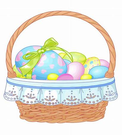 Easter Basket Clipart Transparent Eggs Clipground