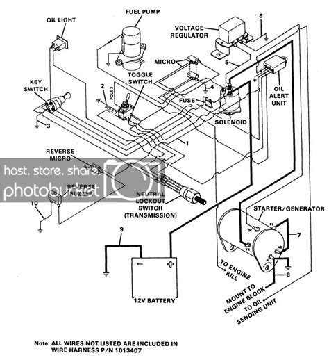 1992 gas club car wiring diagram diagrams online