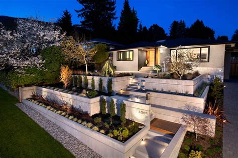 Terraced House Backyard Ideas by How To Turn A Steep Backyard Into A Terraced Garden
